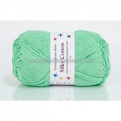 Silky Cotton Mint Green 51
