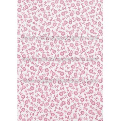 Cotton Fabric 30028-R Flower Pale Pink