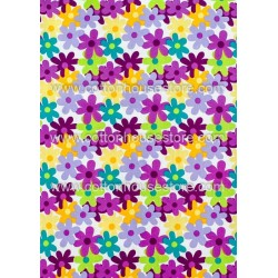 Cotton Fabric 30050-H Flowers