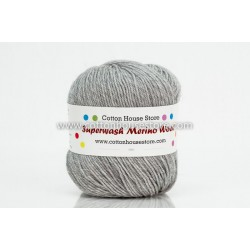 Merino Light Grey 0117 50g
