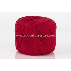 Cotton Lace No. 5 Bright Red 17