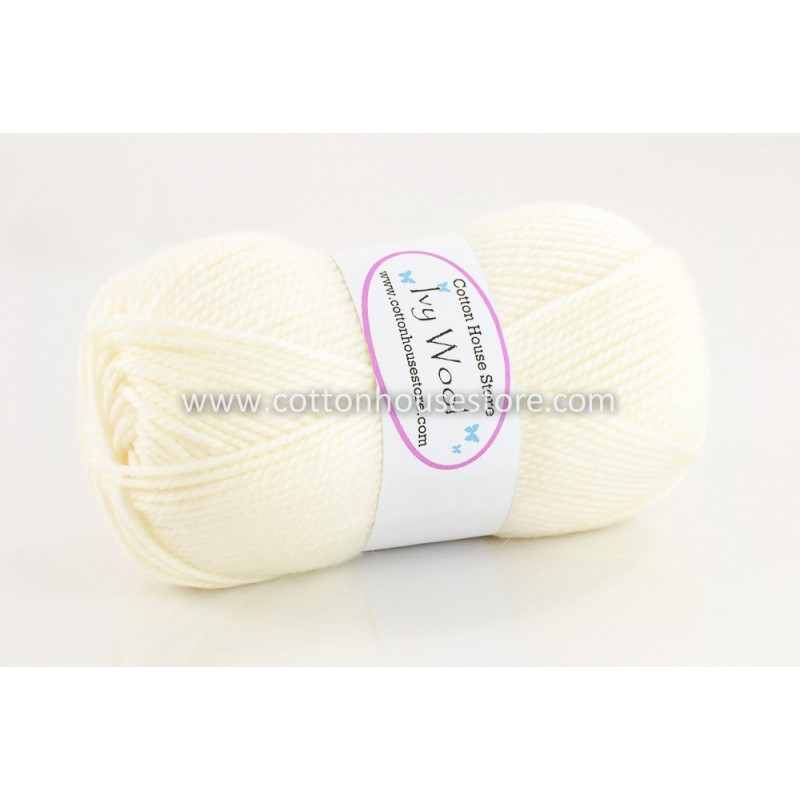Ivy Wool Off-White VW-A01 100g
