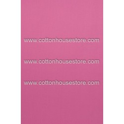 Cotton Fabric 30090-R Plain Dark Pink 1m