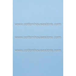 Cotton Fabric 30070-R Plain Light Blue 1m