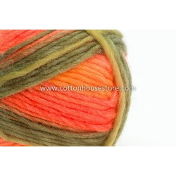 Cashmere Green Orange Yellow A8819