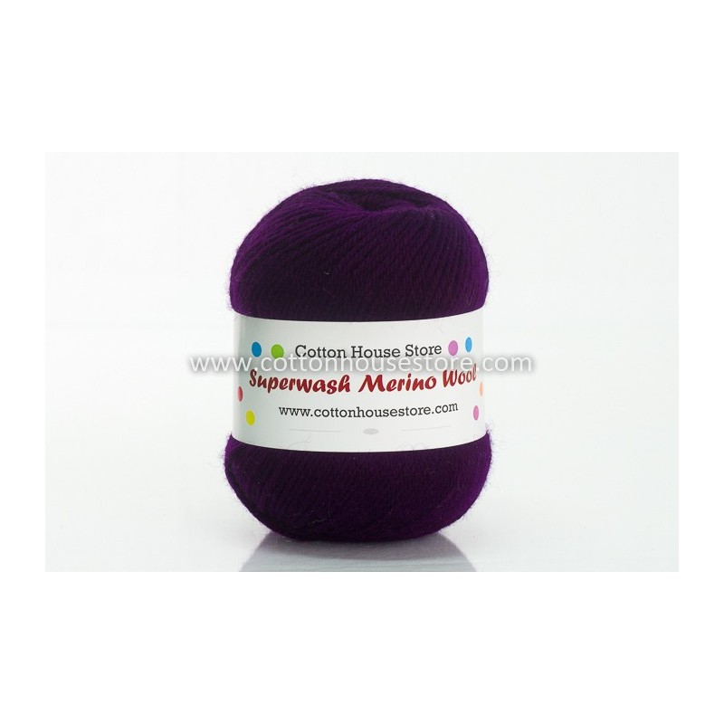 Merino Dark Purple 2248 100g