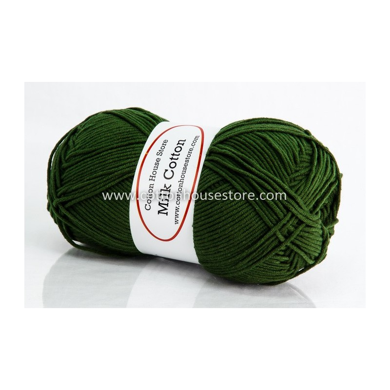 Milk Cotton Series Green Leaves 70