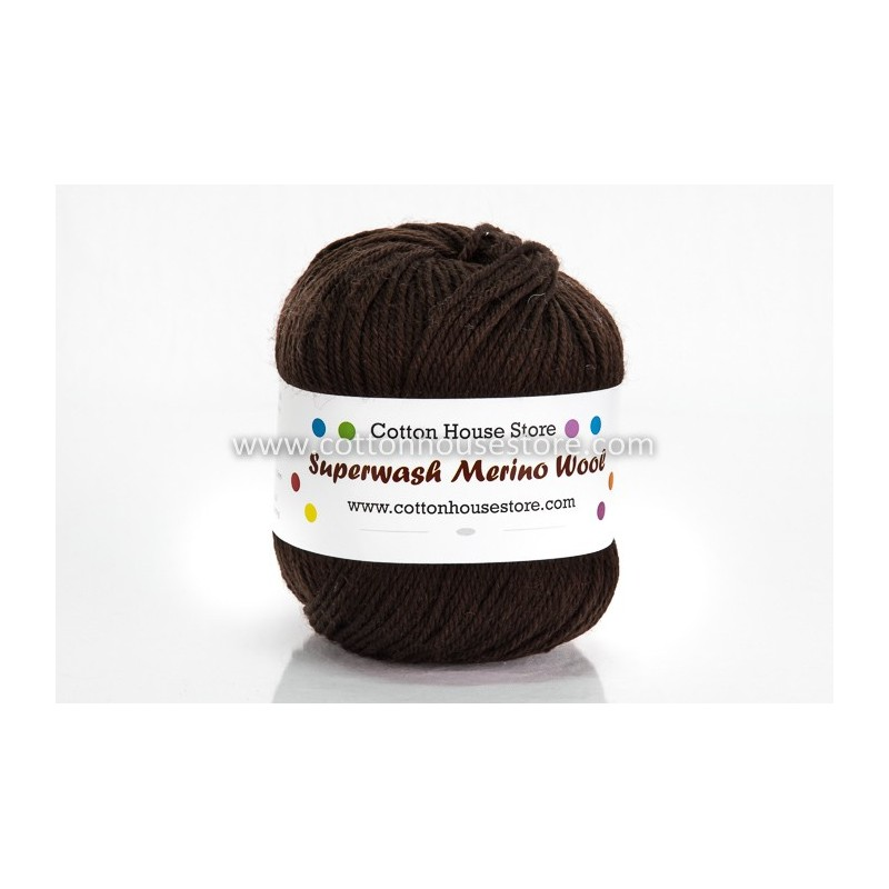 Merino Darkest Brown 2528 100g