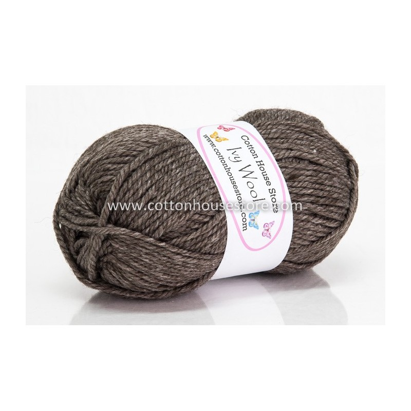 Ivy Wool A59 Wood Brown 100g