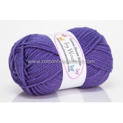 Ivy Wool A49 Purple 100g