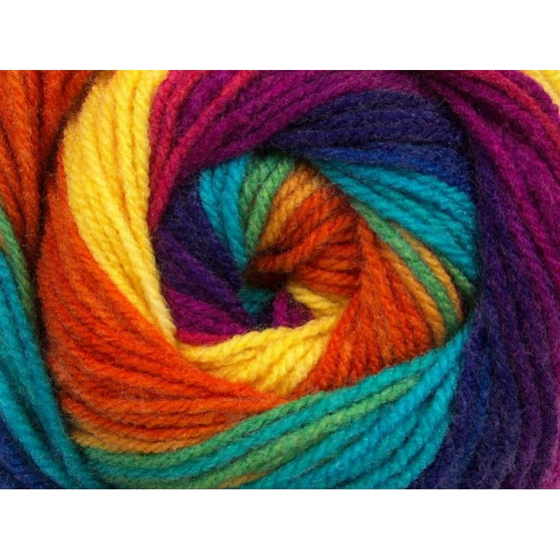 ML Yellow Turquoise Purple Orange Fuchsia 48136