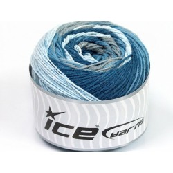 ICE Cakes Cotton Blue Shades Grey