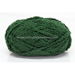 Fluffy Dark Green A26