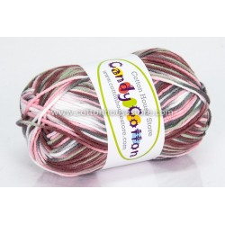 Candy Cotton Pink White Moss Choc S21