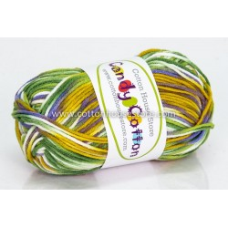 Candy Cotton Green White Grey Yellow S04