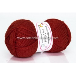 Ivy Wool A56 Dark Orange 100g