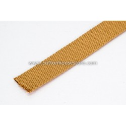Light Brown Cotton Webbing for Bag 3m 2.5cm, 231
