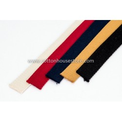 Black Cotton Webbing for Bag 3m 2.5cm, 230