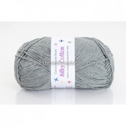 Silky Cotton Dark Grey 50