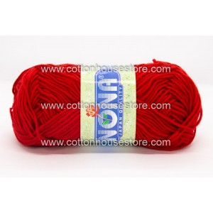 Nona Yarn Bright Red 80 (5pcs)