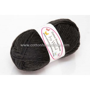 Ivy Wool A98 Dark Grey 100g...