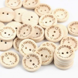 'Handmade' Wood Buttons...