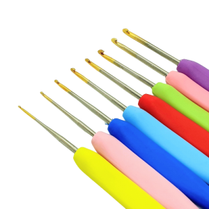 8 Pcs Colorful Crochet Hook...