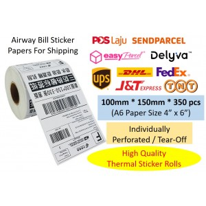 Shipping Label 100mm x...
