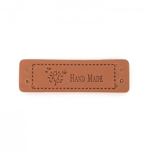 Labels PU Leather 'HAND...