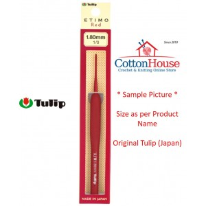 Tulip Etimo Red 2.5mm 4/0...