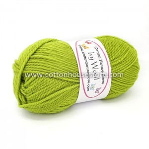Ivy Wool A55 Bright Green 100g
