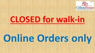 CLOSED for Walk-in. Online Orders Only